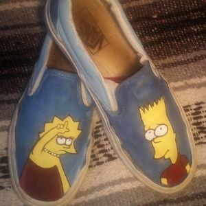 Custom Simpson vans
